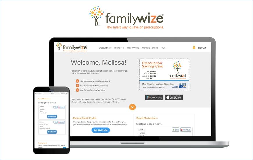 FamilyWize Best deals on medication