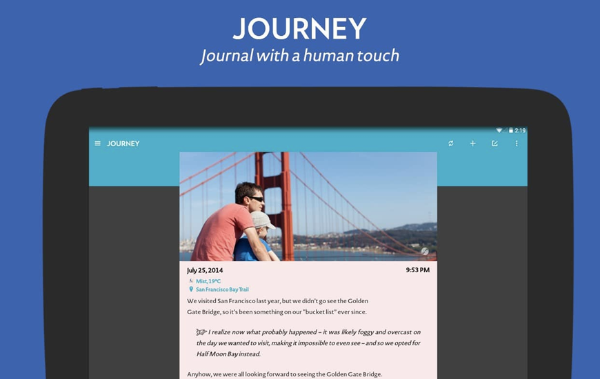 Journey: Diary, Journal