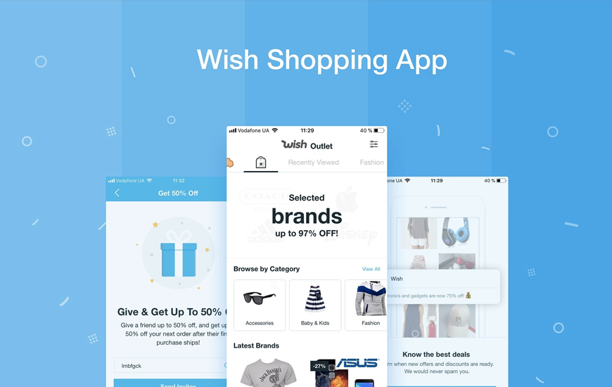 Wish Shopping Made Fun